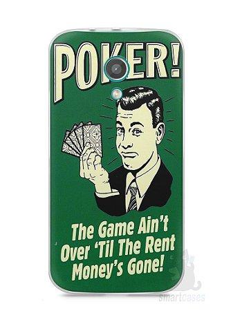 Capa Moto G2 Poker #2
