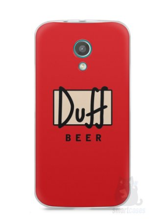Capa Moto G2 Cerveja Duff
