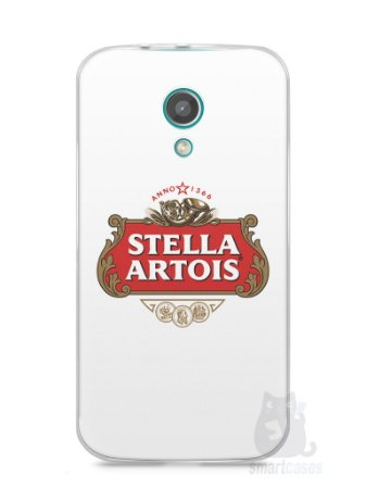 Capa Moto G2 Cerveja Stella Artois
