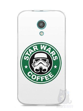 Capa Moto G2 Star Wars Coffee