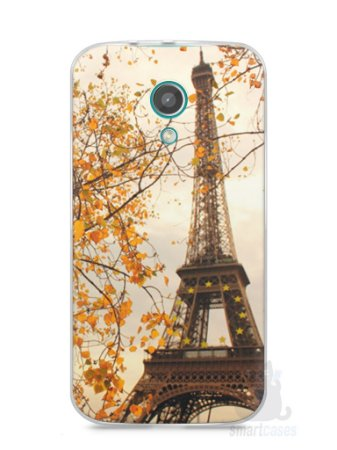 Capa Moto G2 Torre Eiffel #1