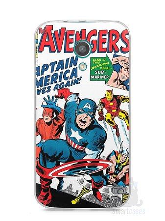 Capa Moto G2 The Avengers