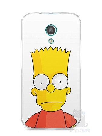 Capa Moto G2 Bart Simpson