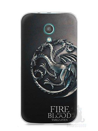 Capa Moto G2 Game Of Thrones Targaryen