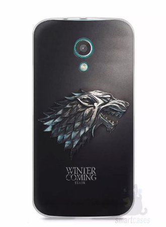 Capa Moto G2 Game Of Thrones Stark