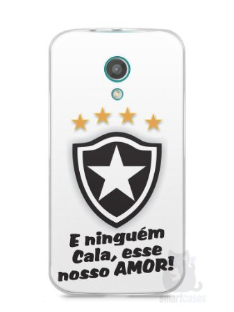 Capa Moto G2 Time Botafogo #2