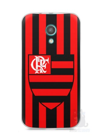 Capa Moto G2 Time Flamengo #1