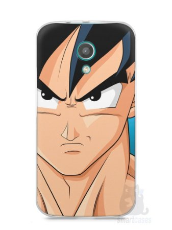 Capa Moto G2 Dragon Ball Z Goku