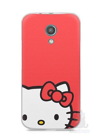 Capa Moto G2 Hello Kitty