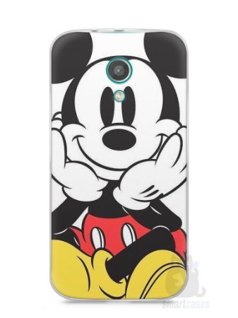 Capa Moto G2 Mickey Mouse #2