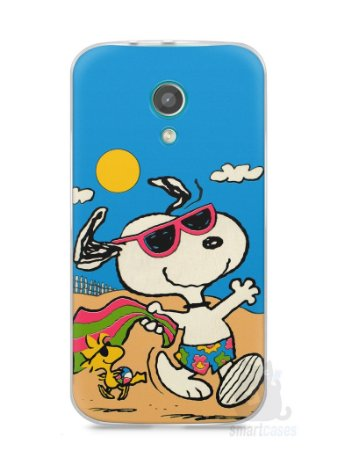 Capa Moto G2 Snoopy #1