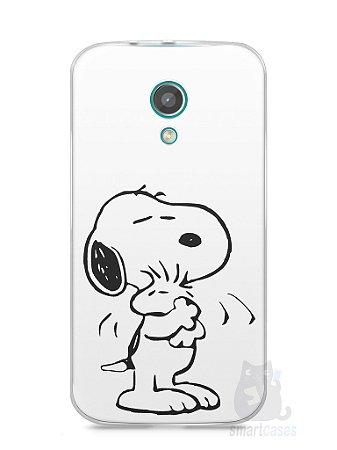 Capa Moto G2 Snoopy #2