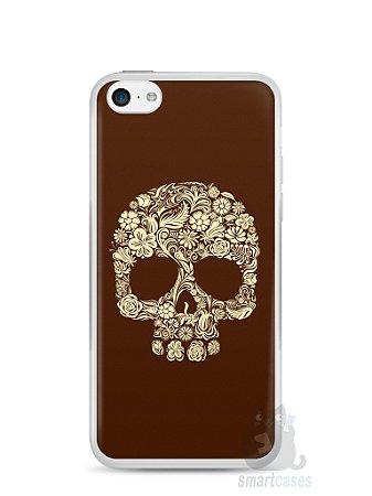 Capa Iphone 5C Caveira #5