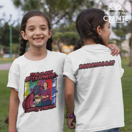 Camiseta Infantil - Família