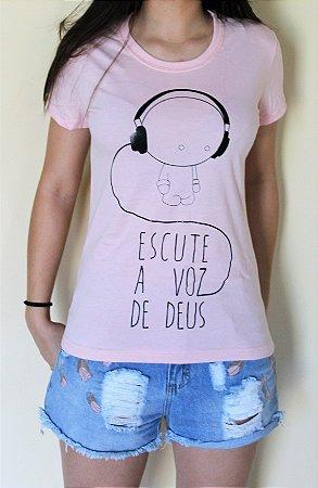 Camiseta Escute A Voz De Deus