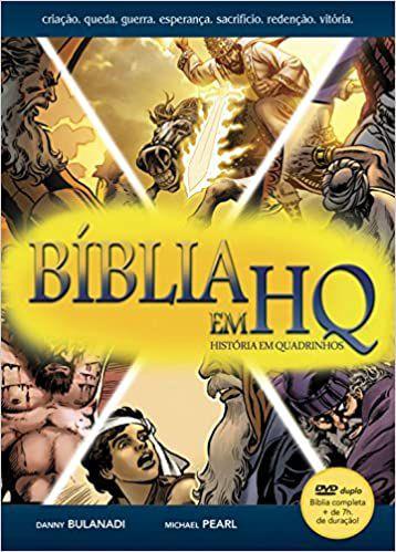 Bíblia em HQ com DVD - Capa Dura