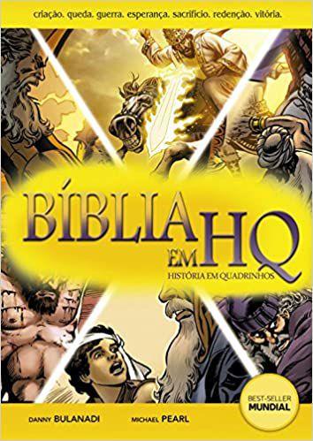 Bíblia em HQ - Capa Comum