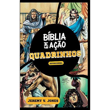 Livro - Devocional Bíblia em Ação - Quadrinhos