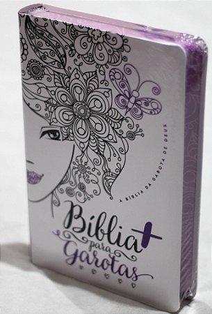 Bíblia Para Garotas Glitter Roxo (NTLH)