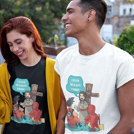 Camiseta Jesus Salvador
