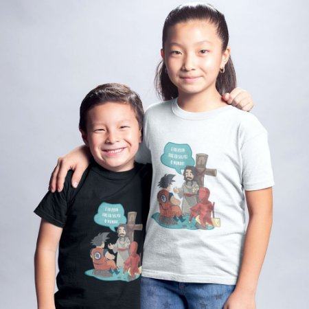 Camiseta Infantil - Jesus Salvador