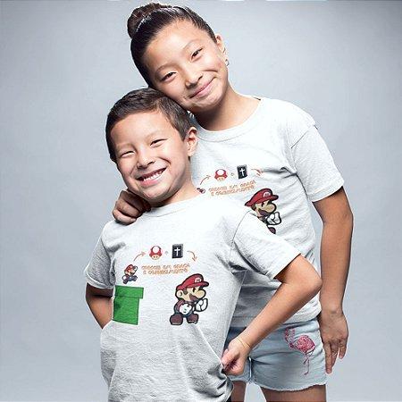 Camiseta Infantil - Crescei em Graça