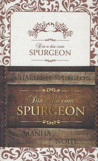 Livro - Devocional Dia a Dia Com Spurgeon - Manhã e Noite (Capa em Linho)