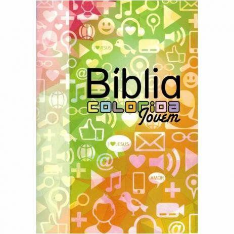 Bíblia Colorida Jovem - Redes Sociais (SBU)