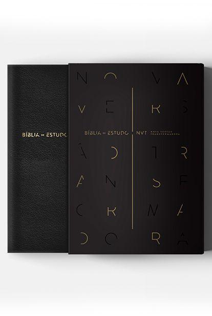 Bíblia de Estudo - Nova Versão Transformadora - Preto (NVT)