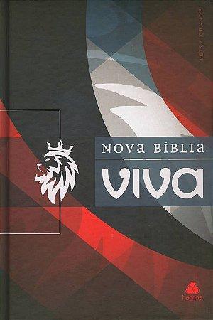 Bíblia - Nova Bíblia Viva - Capa Dura - Royal - Letra Grande