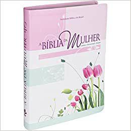 Bíblia da Mulher - Luxo Grande - Capa Tulipa (Almeida Revisada Atualizada)