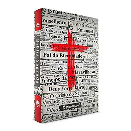 Bíblia JesusCopy - Capa Dura - Cruz Vermelha (NVI)