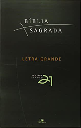 Bíblia Sagrada - Letra Grande - Capa Brochura com Sobrecapa (Almeida Séc. 21)