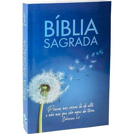 Bíblia Sagrada - Flor Dente de Leão - Azul (NTLH)