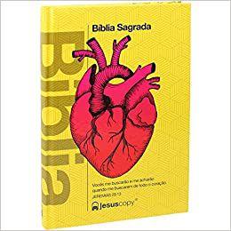 Bíblia JesusCopy - Capa Dura - Coração (Nova Almeida Atualizada)