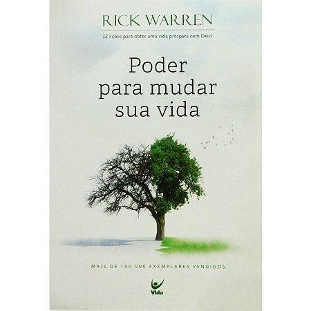 Livro - Poder Para Mudar Sua Vida - Rick Warren