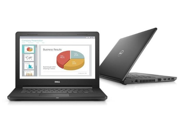 "Notebook Dell Vostro 3468 Intel Core i3 6006U Dual Core 2.0GHz, Tela 14"", 4GB RAM, 500GB HD, DVD-RW, Wi-Fi, Windows 10 Pro"