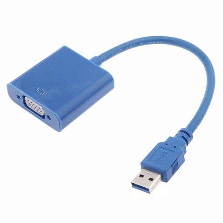 ADAPTADOR USB X VGA 20CM