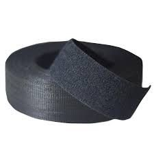 VELCRO 3,65M X 20MM PRETO (SLIM)