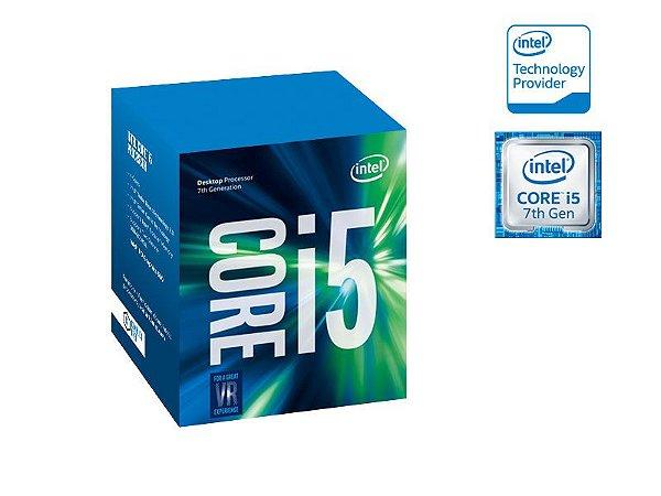 PROCESSADOR INTEL CORE I5-7400 KABYLAKE 7 GERAÇÃO BX80677I57400