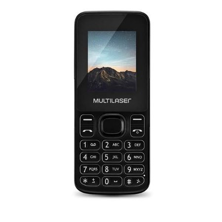 CELULAR MULTILASER NEW UP DUAL CHIP PRETO P9032