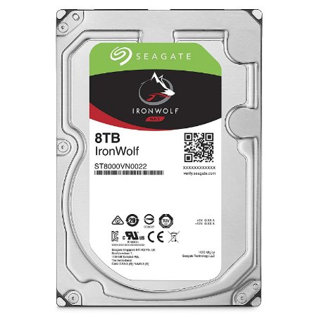 HD SEAGATE 8TB 7200RPM 256MB CACHE SATA 6GB/S IRONWOLF ST8000VN0022