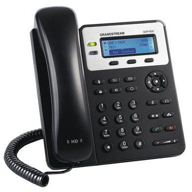 TELEFONE IP GRANDSTREAM VOIP COM VISOR LCD PARA 2 LINHAS E 2 CONTAS SIP GXP1625