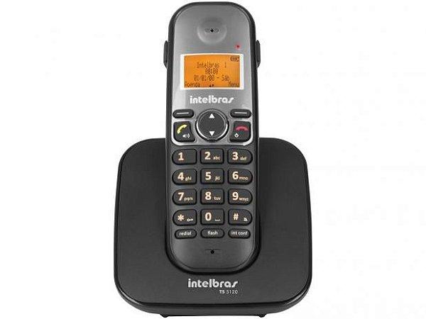 TELEFONE SEM FIO TS 5120 PRETO INTELBRAS