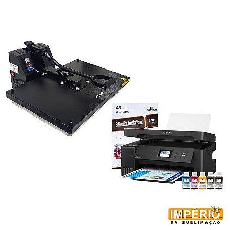 Kit Prensa Plana 40x60 Deko (Epson A3 L14150)