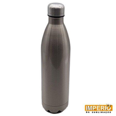 Garrafa Térmica cola Prata 750 ml