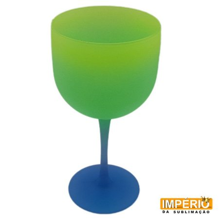 Taça Gin Summer (Azul -Verde-Amarelo)