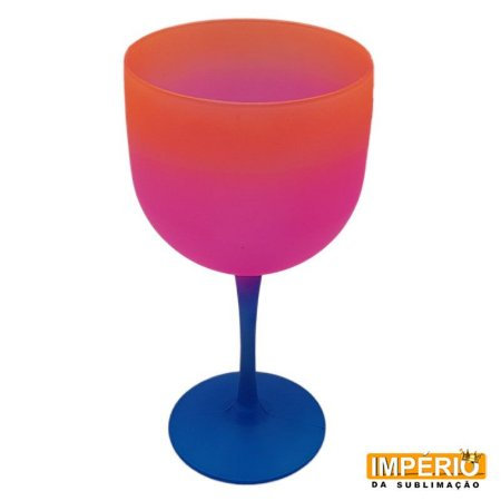Taça Gin Summer (Azul-Rosa-Laranja)