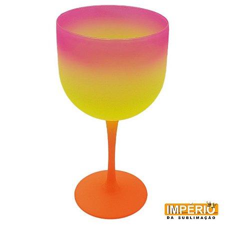 Taça Gin Summer (Laranja-Amarelo-Rosa)
