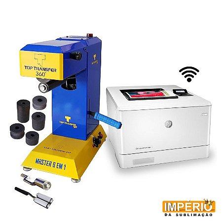 Kit top transfer 8x1 360 + Impressora a laser hp m454dw